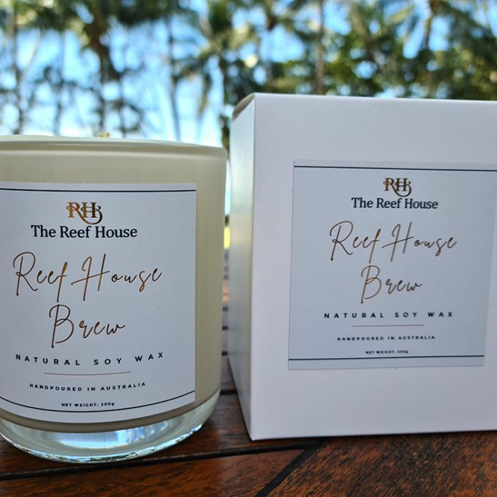 Reef House Brew Natural Soy Wax Candle